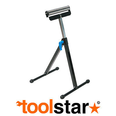 Roller Work Stand Adjustable - Supports Up To 60Kg Timber Wood Pipes
