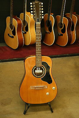 Vintage 1967 12-String Hofner Acoustic/Electric Guitar!