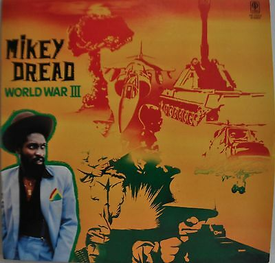 Mikey Dread World War III Japan LP Trio AW-25003 Insert Scientist King Tubby