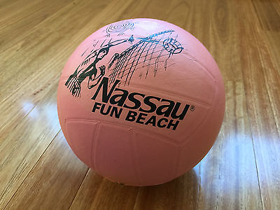 NASSAU Beach Volleyball Outdoor Sand Volley Ball Standard Official Size 5 RRP$30