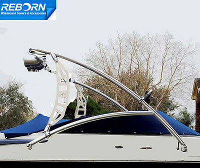 Reborn Propel Wakeboard Tower Shining Polished-5 Yr Wrty