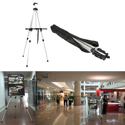 Aluminum Easel Lightweight Display Tripod Menu Poster Picture Holder Stand