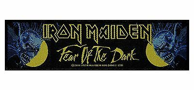 """SS """"Iron Maiden: Fear of the Dark"""" Heavy Metal Band Album Sew On Applique Patch"""