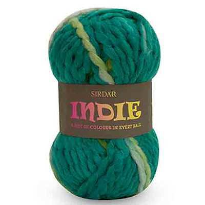 Sirdar Indie Super Chunky yarn OUR PRICE: £3.49 DISCONTINUED