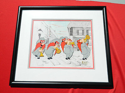 Yosemite Sam Limited Ed Painted Cel SIGNED VIRGIL ROSS The Jazz Player 388/500