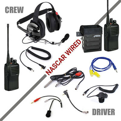 NASCAR Communications Rugged Radios Racing System w / EVX531 Driver to Spotter