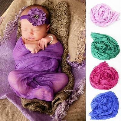 Gauze Cheesecloth Wraps Baby To Maternity Photography Props Hammocks Shower Gift