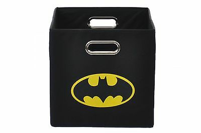 Batman Laundry Basket Sorter Bathroom Bedroom Folding Storage Superhero Bin