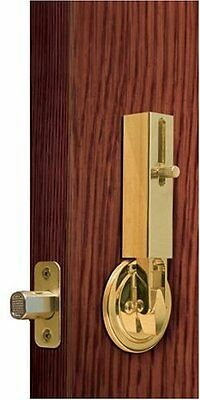 Lock Jaw Security 1001 Door Security Device, Polished Brass