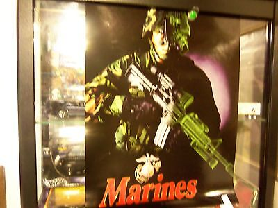 "Marines Ar15 Night Vision Wall Poster - Mint 18"" X 24"" -"