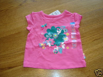 The Children's Place girls 24 month pink TEE T shirt NWT ^^