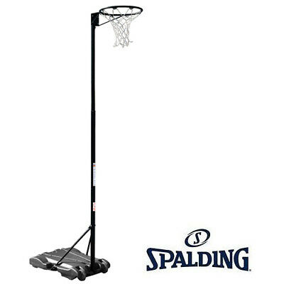 SPALDING 3mtr NETBALL RING PORTABLE NET BALL System Stand Net