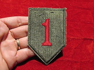 1st Infantry Division patch w/ original store tag  Premium Quality Big Red 1