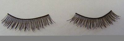 Reborn Doll Eyelash Strip 4-6mm x 20cm Black #4