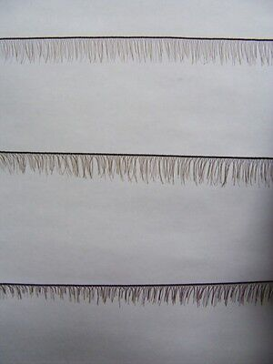 Reborn Doll Eyelash Strip 4-6mm x 20cm Brown #3