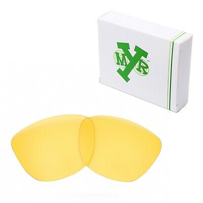 MRY Replacement Lenses for-Oakley Frogskins Sunglasses HD Yellow