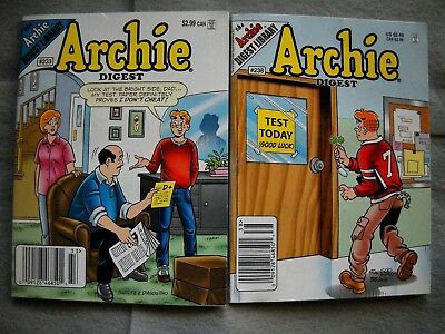 Archie Digest Comic #233 May 2007 & #238 November 2007