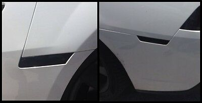 2010-2013 Chevy Camaro Front & Rear Side Marker PreCut Smoke Tint Cover Overlays