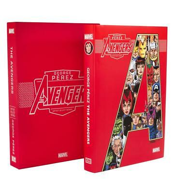 AVENGERS GEORGE PEREZ MARVEL ARTIST SELECT HARDCOVER New Sealed Hardback