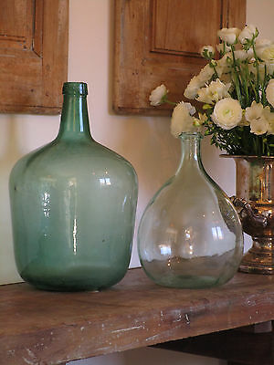 French Green Dame Jeanne Demi John Carboy Bottle 16 inches