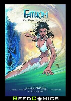 FATHOM VOLUME 1 DEFINITIVE EDITION GRAPHIC NOVEL New Paperback by Michael Turner