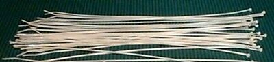"""EXTRA TINY Micro 8"""" Cable Ties For Reborn Dolls Pack of 1000"""