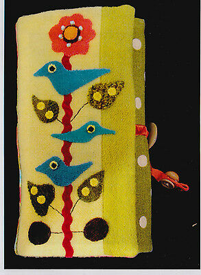 PATTERN - Songbird Jewelry Roll - applique PATTERN - Sue Spargo