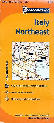 Michelin Map of Italy, Central, Michelin Map #563