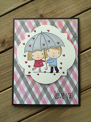 HELLOMIMICARDS - Handmade Greeting Cards - Cute Couple