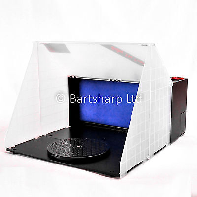 Portable airbrushing spray booth & extractor E420