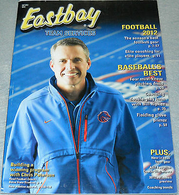 Eastbay Team Services Catalog May 2012 Chris Petersen Head Football Coach BSB