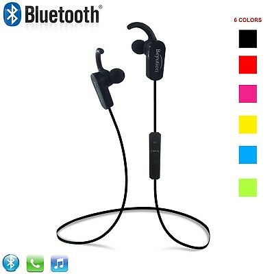 New Sport Wireless Bluetooth Headset Stereo Headphones for iPhone 8 x Samsung LG