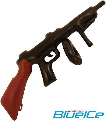 Inflatable TOMMY GUN Children Boy Blow Up Toys Stag Party Fancy Dress Kids Play