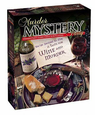 Murder Mystery Party Games by University Games