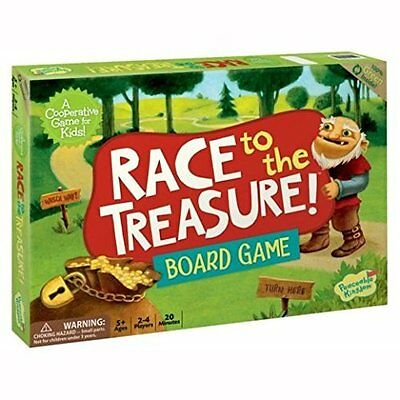 Race to the Treasure Board Game by Peaceable Kingdom