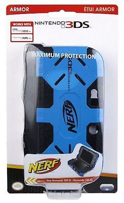 Nintendo 3DS NERF XL Armor: Blue - Comfort Portable Protection Grip PDP NEW