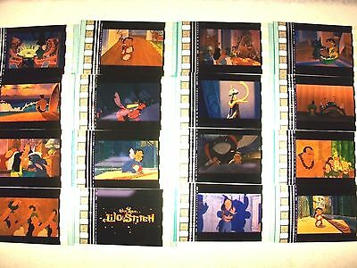 LILO & STITCH Lot of 12 MOVIE FILM CELLS compliments movie dvd poster animation