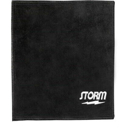 Storm Bowling Shammy Leather Black Oil Removing Pad