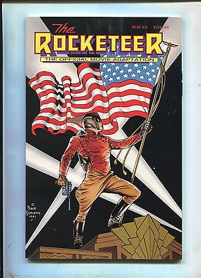 The Rocketeer #1 ~ Trade Paper Back The Official Movie Adaptation (Grade 9.2 OB)