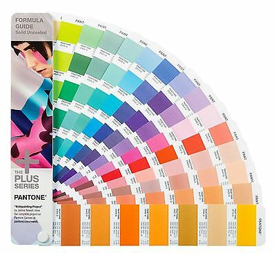 Pantone Plus Series Formula Guide Solid Uncoated Only GP1601N Year 2016 112 NEW