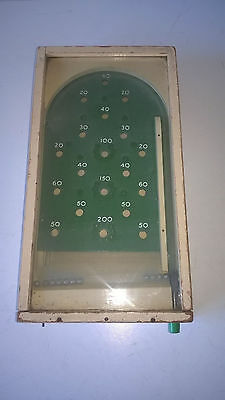 Vintage Chad Valley Glass Topped Bagatelle