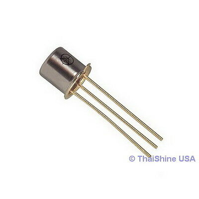 10 x 2N2907A 2N2907 TO-18 PNP 60V 0.6A Transistor - USA SELLER - Free Shipping