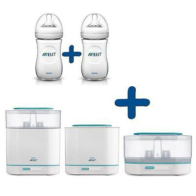 Philips Avent Vorteilspack 3-in-1 Ster & Doppelpack Klassik+ 260ml