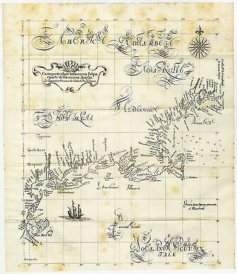 Antique Print-NEW ENGLAND-NETHERLAND-COLONY-NORTH AMERICA-Lucini-Pease-1849
