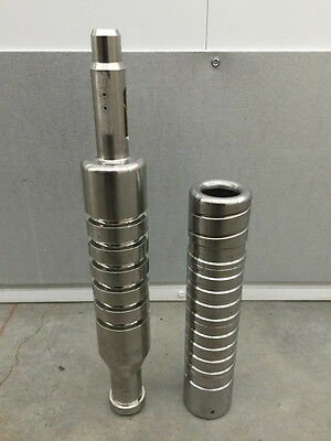 NEW TWO-PIECE PLUNGER LIFT SYSTEM STAINLESS STEEL for GAS WELLS DE-WATERING