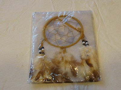 dreamcatcher new in package dream catcher feathers beads small wind chime