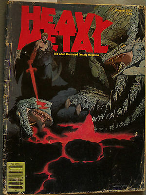 Heavy Metal Comic Magazine August 1977 Vol 1 #5