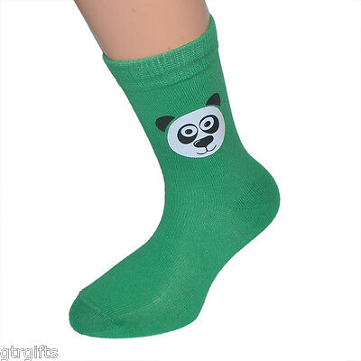 Cute Panda Design Childrens and Adult Socks - Will Suit Boys or Girls X6S126