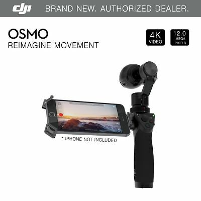 DJI Osmo Handheld 4K Camera SteadyGrip & 3-Axis Gimbal - Brand New