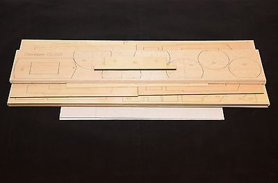"CANADAIR CL-215 Water Bomber Laser Cut Short Kit,  Plans & instruction, 76""WS"
